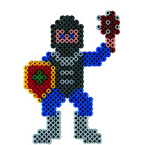 Hama Beads Knights Activity Box
