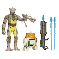 Star Wars Rebels 2 Figure Pack - Garazeb Orrelios & C1-10P