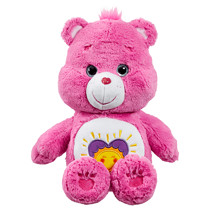 Care Bear Medium Plush With DVD - Shine Bright Bear
