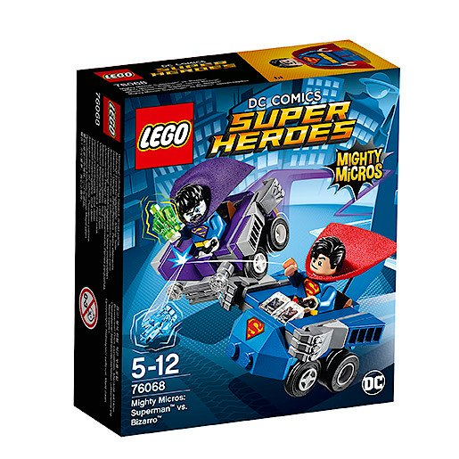 LEGO Super Heroes Mighty Micros: Superman vs. Bizarro - 76068