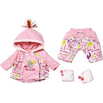 Baby Born Delux Snowtime Outfit