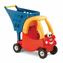 Little Tikes Cozy Shopping Cart (Red)