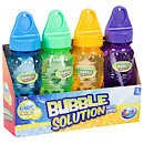 Bubble Factory Pack of 4 Bubble Solution Bottles - 4oz