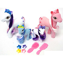 Fantasy Pony Playset - 13 Pieces