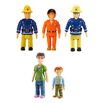 Fireman Sam Action Figures 5 Pack