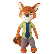Disney Zootropolis Talking Soft Toy - Nick Wilde
