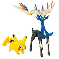 Pokemon XY Double Figure Pack - Xerneas & Pikachu