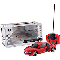 1:18 Remote Control Car - Red Audi R8 GT