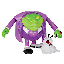 Danger Mouse 7.5cm Baron Greenback with Nero Action Figure