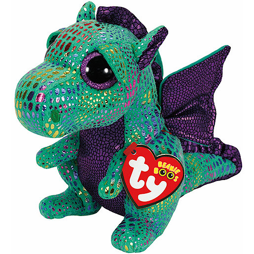 Ty Beanie Boos - Cinder the Dragon Soft Toy