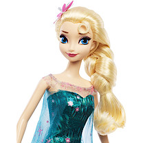 Disney Frozen Fever Birthday Party Doll Elsa