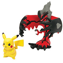 Pokemon XY Double Figure Pack - Yveltal & Pikachu