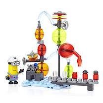 Mega Bloks Despicable Me Jelly Lab - 86 Pieces