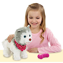 Animagic Fluffy My Training Puppy Interactive Pet