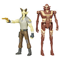 Star Wars Mission Series - Cikatro Vizago and IG-RM Figures