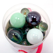 The Entertainer Tub of Marbles