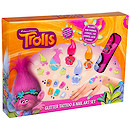 DreamWorks Trolls Glitter Tattoo & Nail Art Set