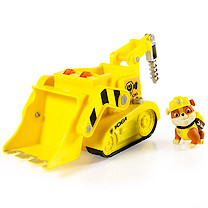 Paw Patrol Sounds Vehicle with Rubble Figure