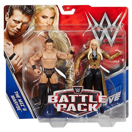 WWE Battle Pack The Miz & Maryse Action Figures