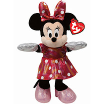 Ty Disney Minnie Buddy Soft Toy with Dotted Dress