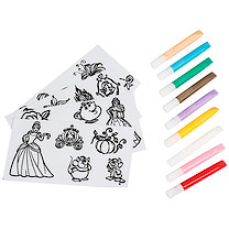Disney Princess Jelly Stickers Set