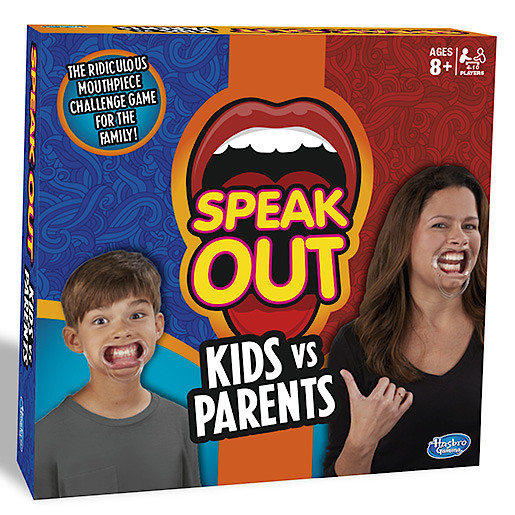 Speak Out Kids vs Parents Game from TheToyShop