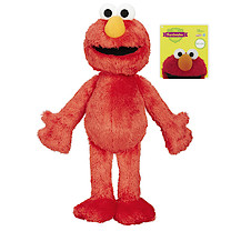 Sesame Street Furchester Friends Jumbo Soft Elmo