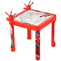 Spider-Man Colouring Table