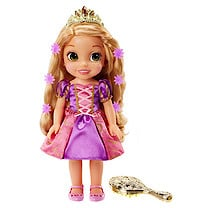 Disney Princess Hair Glow Rapunzel Doll