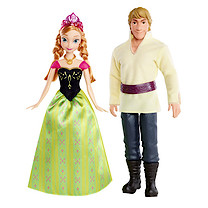 Disney Frozen Anna & Kristoff 2-Doll Pack