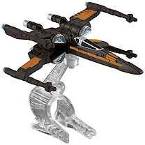 Hot Wheels Star Wars Die Cast Poe's X-Wing Fighter Vehicle