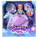 Sparkle Girlz Winter Princess Doll with Horse