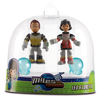 Disney Miles From Tomorrow Two Figure Pack - Leo & Loretta