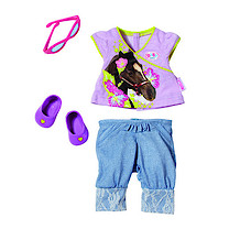 Baby Born Classic Purple Outfit Set