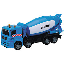 City Team Blue Cement Mixer Truck
