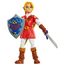 World of Nintendo Zelda Link in Goron Tunic 10cm Figure