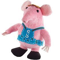 Clangers 18cm Soft Toy - Small