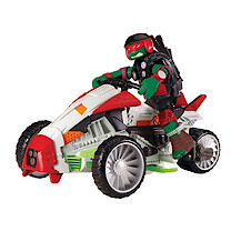 Teenage Mutant Ninja Turtles Mutations Vehicle and Raphael Figure