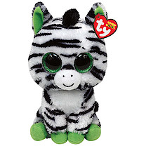 Ty Beanie Boo Buddy - Zig-Zag the Zebra Soft Toy