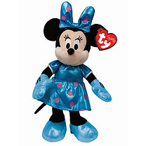 Ty Disney Minnie Buddy Soft Toy with Teal Dress