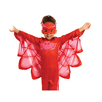 PJ Masks Owlette Hero Dress Up Costume (4-6 Years)