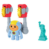 Go Jetters Foz Figure & G.O. Mag