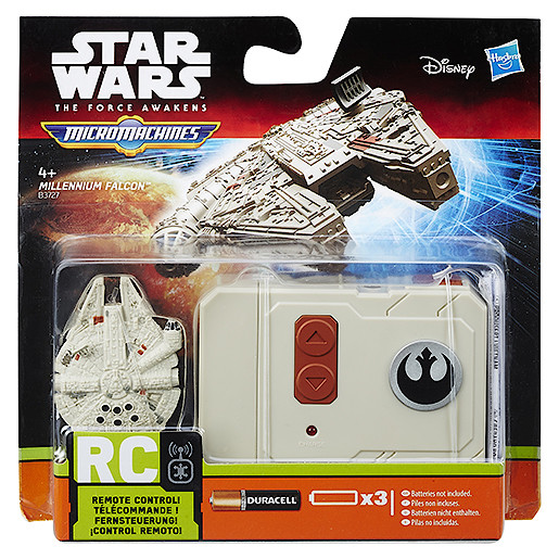 Star Wars The Force Awakens Micro Machines RC Vehicle  Millennium Falcon