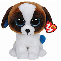 Ty Beanie Boo Buddy - Duke the Dog Soft Toy