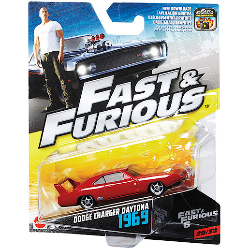 Fast & Furious Vehicle - Dodge Charger Daytona 1969