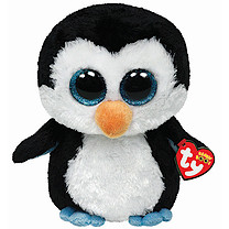 Ty Beanie Boo Buddy - Waddles the Penguin Soft Toy