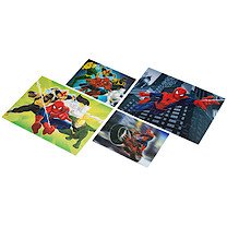 Marvel Ultimate Spider-Man Puzzle 4 Pack