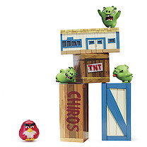 Angry Birds Vinyl Knockout Game