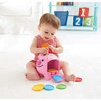 Fisher-Price Laugh & Learn Count & Learn Piggy Bank