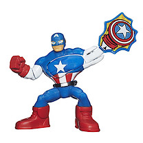Playskool Marvel Super Hero Adventures - Mini Master Captain America